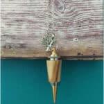 pendule radiesthésie métal bois inox artisanal fait main pierre quartz rose arbre de vie