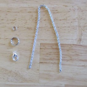 Kit réparation chaine pendule radiesthésie acier inoxydable